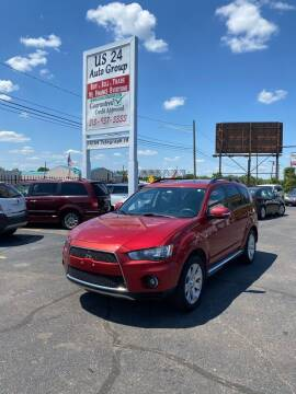 2010 Mitsubishi Outlander for sale at US 24 Auto Group in Redford MI