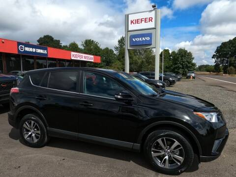 2018 Toyota RAV4 for sale at Kiefer Nissan Budget Lot in Albany OR