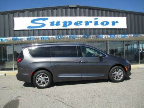 2017 Chrysler Pacifica for sale at SUPERIOR CHRYSLER DODGE JEEP RAM FIAT in Henderson NC