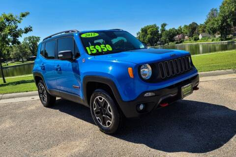 2015 Jeep Renegade for sale at Island Auto in Grand Island NE