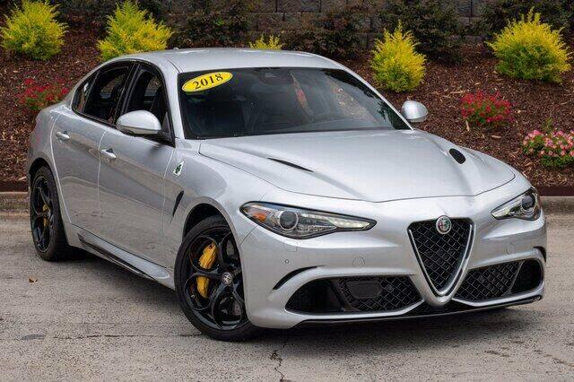 2018 Alfa Romeo Giulia Quadrifoglio for sale in Charlotte, NC