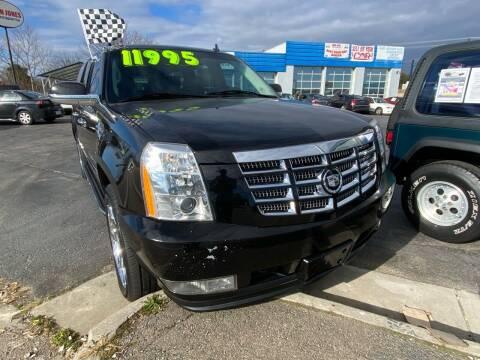 2012 Cadillac Escalade ESV for sale at Brian Jones Motorsports Inc in Danville VA