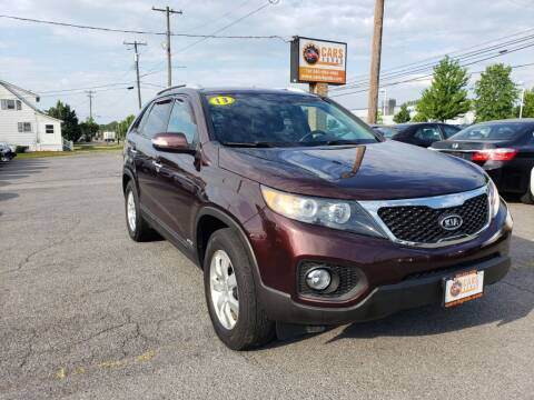 2013 Kia Sorento for sale at Cars 4 Grab in Winchester VA