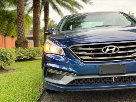 2017 Hyundai Sonata for sale at HIGH PERFORMANCE MOTORS in Hollywood FL