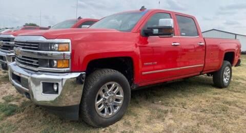 2018 Chevrolet Silverado 3500HD for sale at Bulldog Motor Company in Borger TX