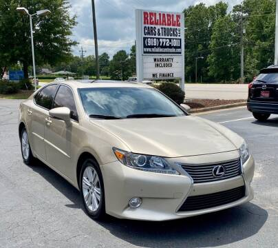 2014 Lexus ES 350 for sale at Reliable Cars & Trucks LLC in Raleigh NC