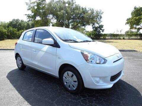 2015 Mitsubishi Mirage for sale at SUPER DEAL MOTORS 441 in Hollywood FL