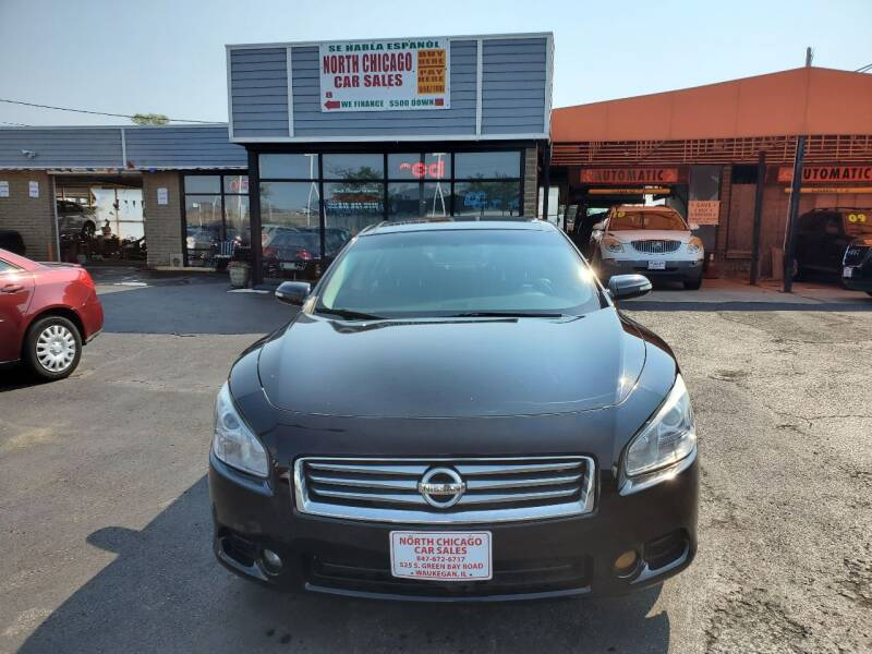 2014 Nissan Maxima for sale at North Chicago Car Sales Inc in Waukegan IL