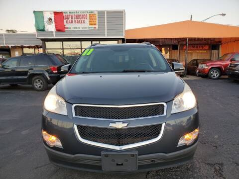 2011 Chevrolet Traverse for sale at North Chicago Car Sales Inc in Waukegan IL