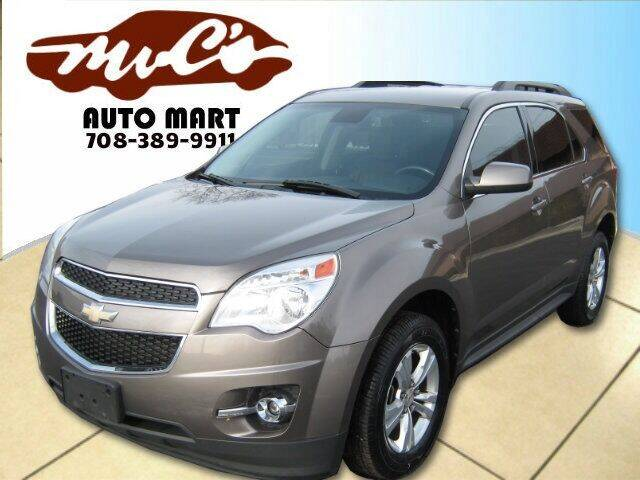 2012 Chevrolet Equinox for sale at Mr.C's AutoMart in Midlothian IL