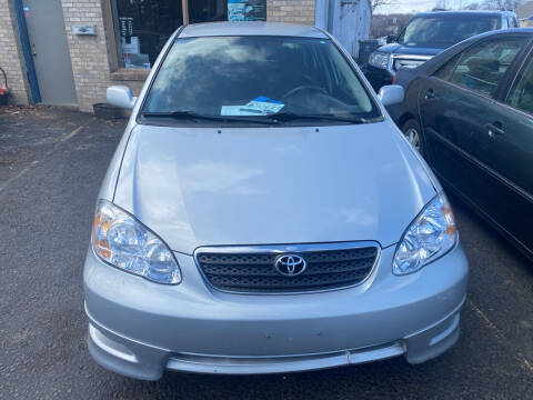 2007 Toyota Corolla for sale at Whiting Motors in Plainville CT