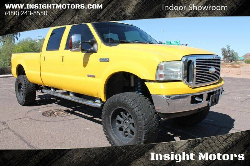 2006 Ford F-250 Super Duty for sale at Insight Motors in Tempe AZ