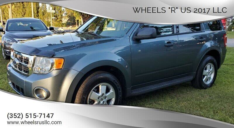 "2012 Ford Escape for sale at WHEELS ""R"" US 2017 LLC in Hudson FL"