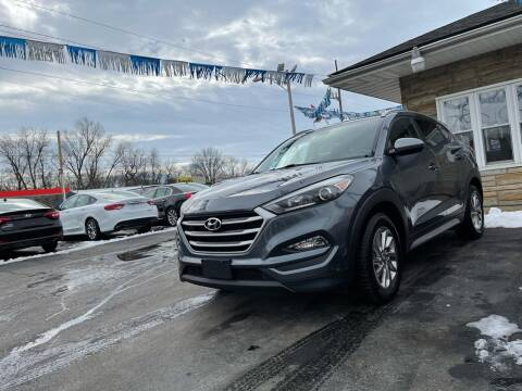 2017 Hyundai Tucson for sale at Brucken Motors in Evansville IN