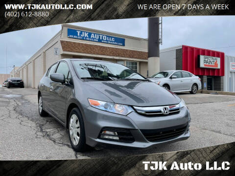 2013 Honda Insight for sale at TJK Auto LLC in Omaha NE