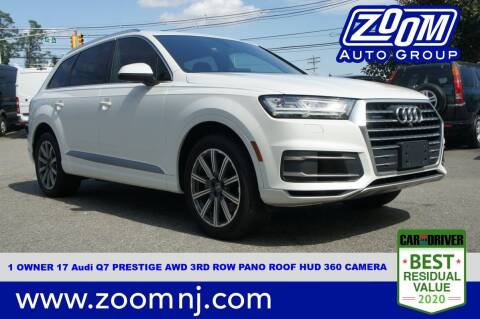 2017 Audi Q7 for sale at Zoom Auto Group in Parsippany NJ