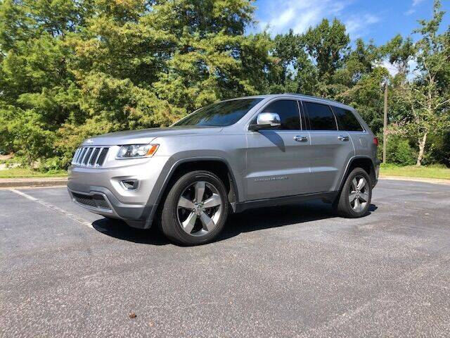 2014 Jeep Grand Cherokee for sale at Lowcountry Auto Sales in Charleston SC