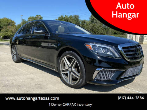 2015 Mercedes-Benz S-Class for sale at Auto Hangar in Azle TX