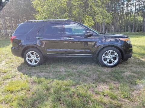 2014 Ford Explorer for sale at McLain's Auto Sales in Lake City MI