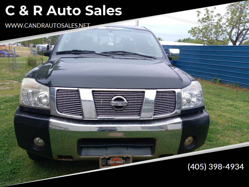 2006 Nissan Titan for sale at C & R Auto Sales in Bowlegs OK