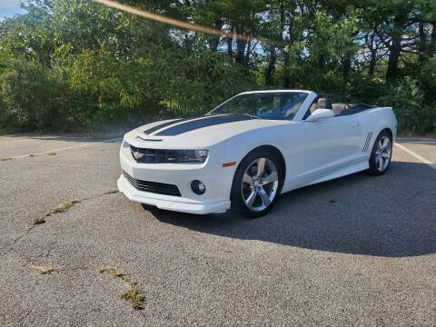 2012 Chevrolet Camaro for sale at Westford Auto Sales in Westford MA