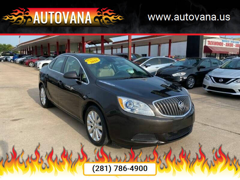 2016 Buick Verano for sale at AutoVana in Humble TX