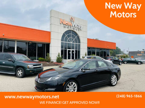 2014 Lincoln MKZ for sale at New Way Motors in Ferndale MI