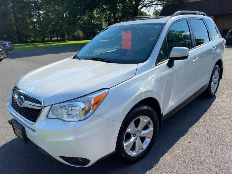 2014 Subaru Forester for sale at Suburban Wrench in Pennington NJ
