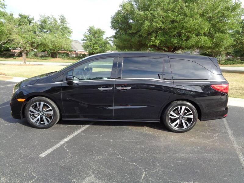 2018 Honda Odyssey for sale at BALKCUM AUTO INC in Wilmington NC