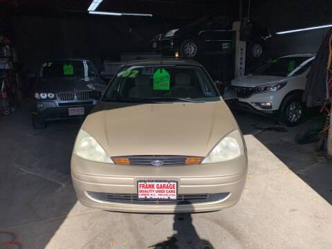 2002 Ford Focus for sale at Frank's Garage in Linden NJ