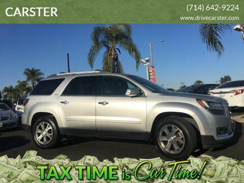 2013 GMC Acadia for sale at CARSTER in Huntington Beach CA