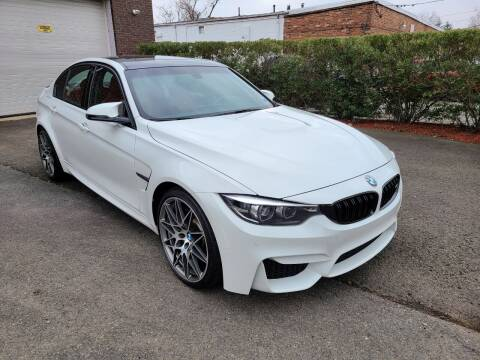 2018 BMW M3 for sale at International Motor Group LLC in Hasbrouck Heights NJ