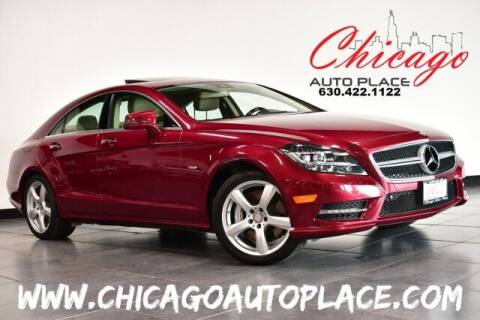 2012 Mercedes-Benz CLS for sale at Chicago Auto Place in Bensenville IL