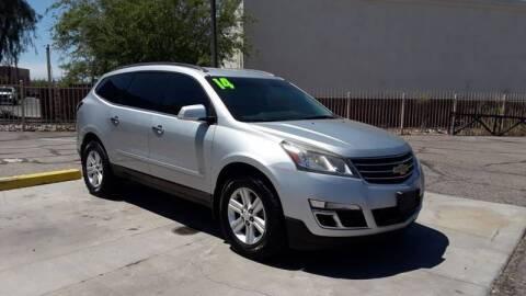 2014 Chevrolet Traverse for sale at CAMEL MOTORS in Tucson AZ