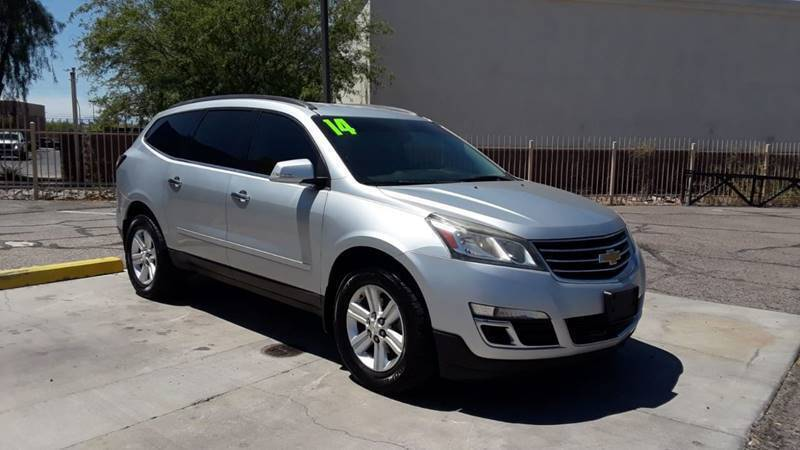 2014 Chevrolet Traverse for sale at CAMEL MOTORS in Tucson AZ