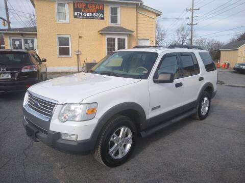 2006 Ford Explorer for sale at Top Gear Motors in Winchester VA