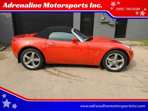 2008 Pontiac Solstice for sale at Adrenaline Motorsports Inc. in Saginaw MI
