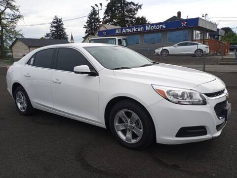 2016 Chevrolet Malibu for sale at All American Motors in Tacoma WA