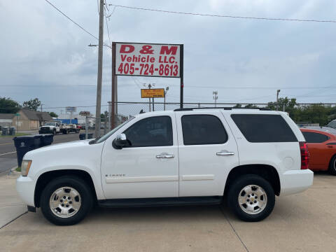 2008 Chevrolet Tahoe for sale at D & M Vehicle LLC in Oklahoma City OK
