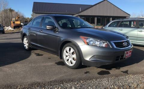 2010 Honda Accord for sale at eurO-K in Benton ME