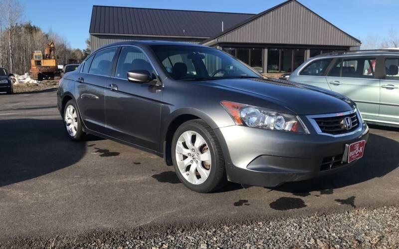 2010 Honda Accord for sale at eurO-K in Benton ME