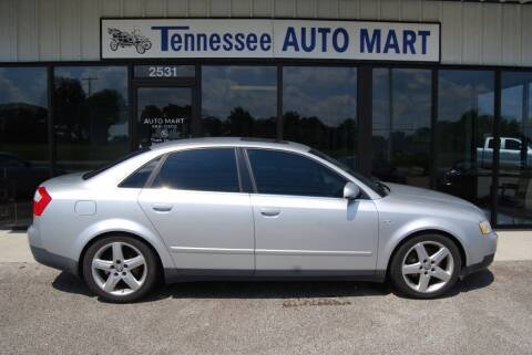 2003 Audi A4 for sale at Tennessee Auto Mart Columbia in Columbia TN