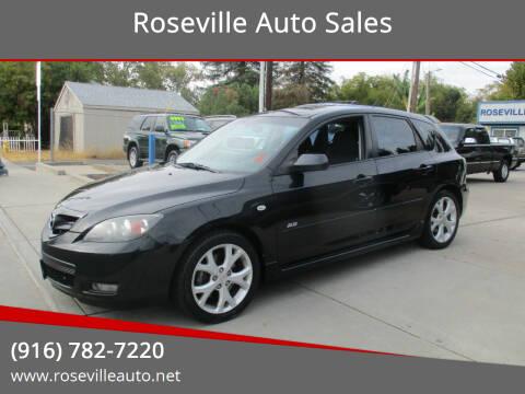2007 Mazda MAZDA3 for sale at Roseville Auto Sales in Roseville CA