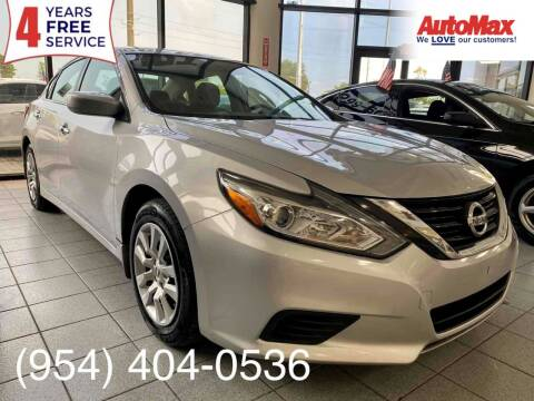 2018 Nissan Altima for sale at Auto Max in Hollywood FL