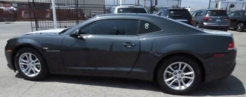 2015 Chevrolet Camaro for sale at Luxor Motors Inc in Pacoima CA