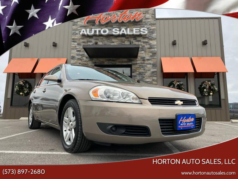 2006 Chevrolet Impala for sale at HORTON AUTO SALES, LLC in Linn MO