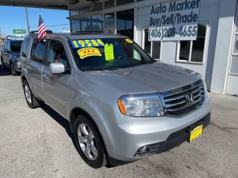 2013 Honda Pilot for sale at Auto Market in Billings MT