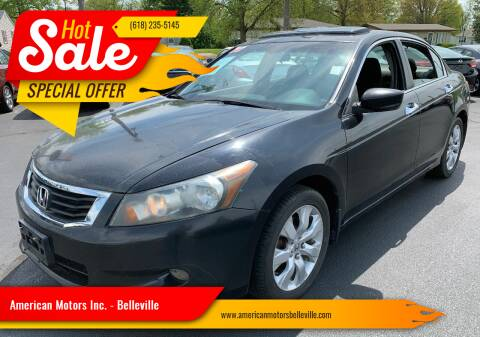 2008 Honda Accord for sale at American Motors Inc. - Belleville in Belleville IL