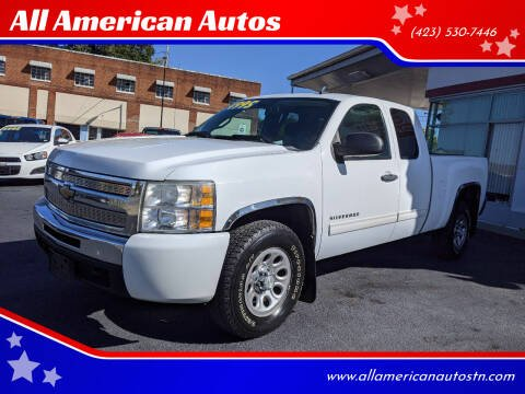 2010 Chevrolet Silverado 1500 for sale at All American Autos in Kingsport TN