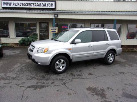 2006 Honda Pilot for sale at PJ's Auto Center in Salem OR
